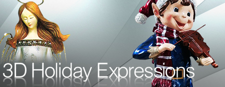 3D Holiday Expressions