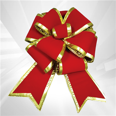 easy to install and professional looking these beautiful bows are the essential holiday decoration nothing says christmas quite as eloquently as a big red - How To Make A Big Christmas Bow